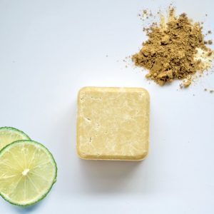 Zero Waste Path Shop 2n1 Solid Shampoo for dry and curly hair