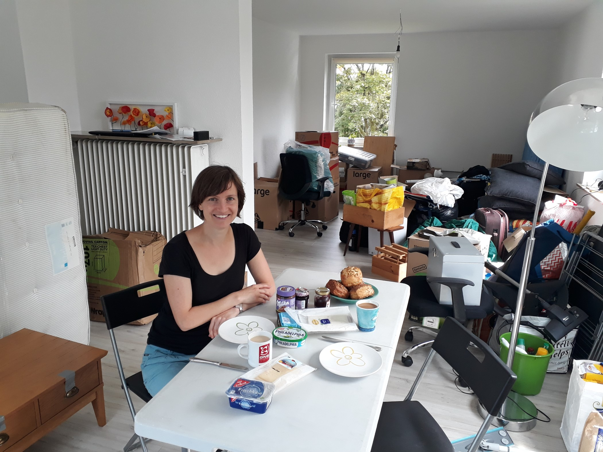Furniture moved from England to Germany